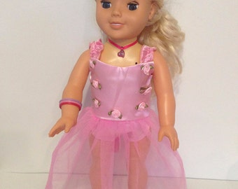 "Ballet Dance Dress for 18"" dolls"