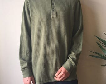 Olive Green Army Long Sleeve