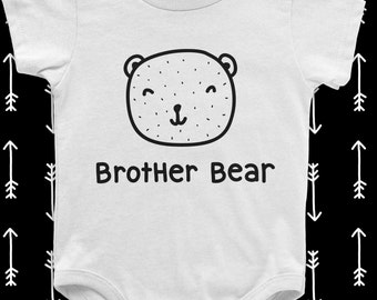 SINGLE TEE- Brother Bear / Siblings / Matching Tees / Baby / Mama Bear / Toddler Tee / Kids Tee / Cute Nature / Brother Sister