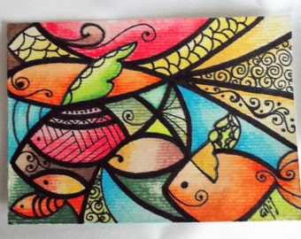 ACEO art card collection