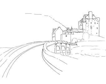 Eilean Donan Castle A Print