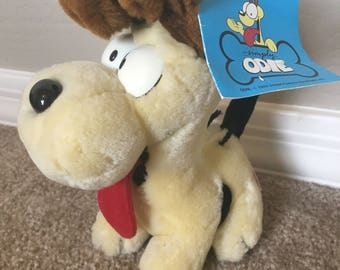 Vintage Odie Tongue Out Garfield