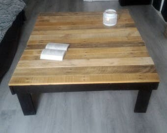 Table Palette raw wood
