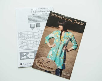 Women's Schoolhouse Tunic by SewLiberated