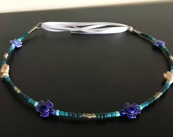 Go With the Flow. Blue Sea Turtle Crown
