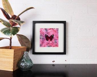 Scarlet Butterfly - Framed Giclee Print