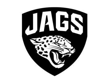 Jacksonville Jaguars Jags NFL Football Team Logo Decal Sticker