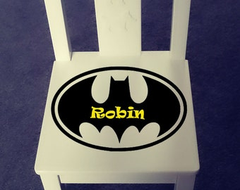 Personalized kids chair - Batman