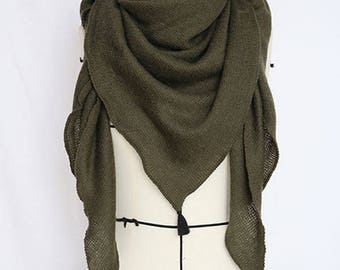 Headscarf mid-season customizable PomPoms handmade French creation
