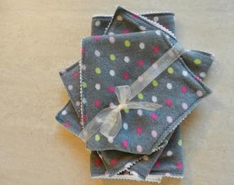 GrayPOLKADOT Baby Gift Set