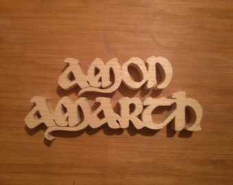 Amon Amarth Custom Wood Working