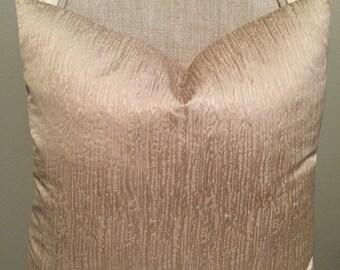 """Champagne Devine 20""""x20"""" Pillow Cover"""