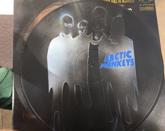 Arctic Monkeys Vinyl Record Art