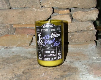 Lo'ca'tour Wine Bottle Candle