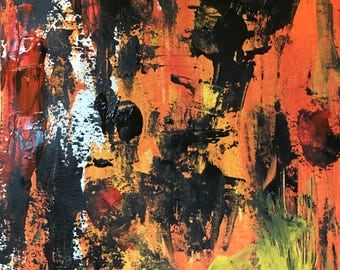 Abstract Painting Original OOAK by Jason Hembree