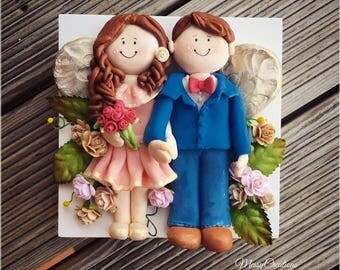 Personalised wedding Couple Memento