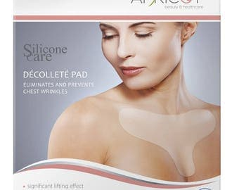 Silicone care® décolleté pad - for a firmer, crêpe cleavage over night!