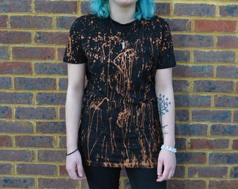 Custom Bleached T-Shirt