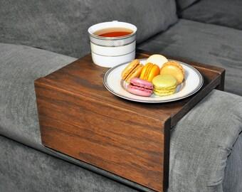 Sofa Armrest Table, Couch Armrest, Chair Caddy, Wood Tray, Wood Armrest, Sofa Sleeve, Couch Table, Sofa Arm Table, Tray, Sofa Tray, Armrest