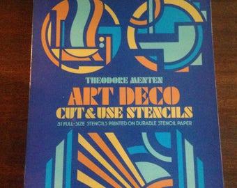 Vintage Art Deco Stencils