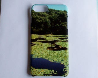 Lily Pond Snap On Full Wrap Phone Case Cover For Iphone And Samsung Galaxy