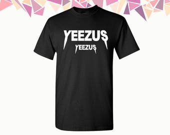 Yeezus T Shirt Yeezus Shirt Tees Kanye West Hip Hop Classic Yeezy T-shirt Mens T-shirt Mens Shirts Mens Tees Party Shirt Tees Gift For Him