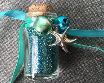 Sea/Mermaid Blessing witch bottle