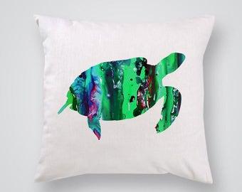 Tortoise Pillow Cover Throw Pillow Home Decor