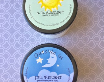 A.M. Cleanser  - soothing oatmeal
