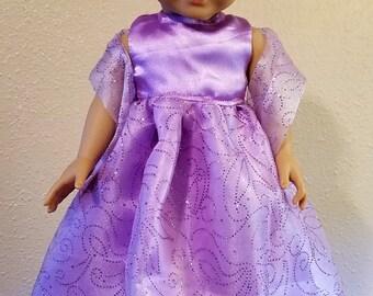 """Fancy Party Dress 18"""" doll"""
