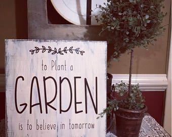 11x12 To plant a garden