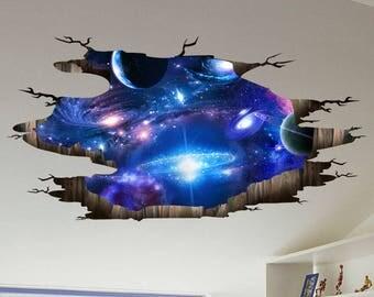 Galaxy, Space War Wall/Ceiling Decor