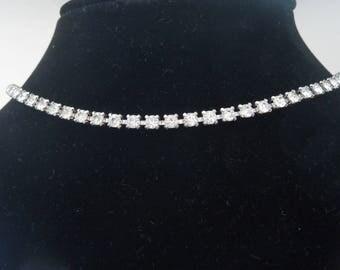 Necklace rhinestone chain