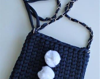Bag shoulder bag PomPoms