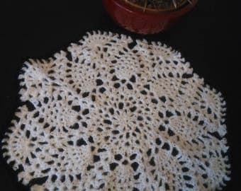 Table cloth, handmade