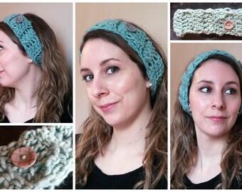 Low tide colored headband