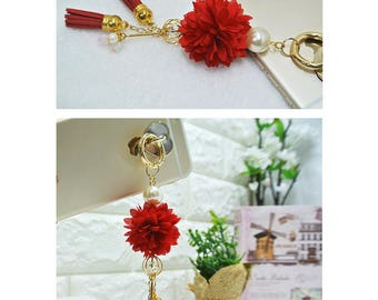 Accessories to make your cellphone look cool / Customize your cell phone / Keychain / Bag charm / Cellphone charm / Bag decoration
