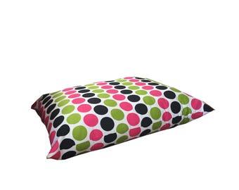 Pet Bed, Polka Dot Pillow Bed