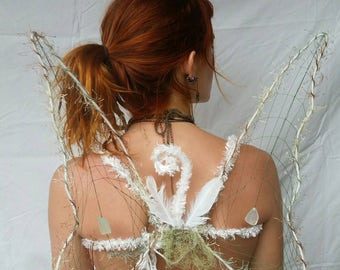 Winter Willow Faerie Wings
