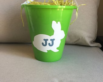 Personalized Childrens Easter Bunny Basket