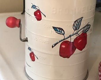 Vintage Bromwells Flour Sifter