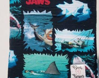 Jaws book sleeve