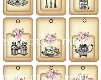 Vintage Kitchen Gift Tag Digital KIT Pdf