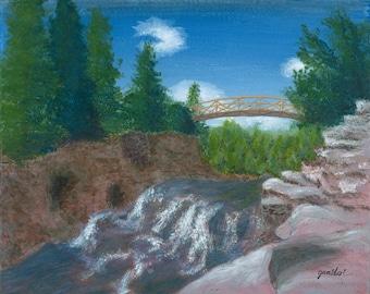 Bridge over Bubbling Stream