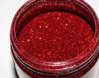 Cherry pie glitter polish