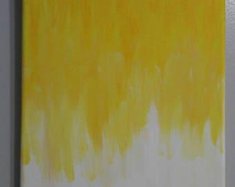 Egg yolk accident: Original Acrylic  8inx10in