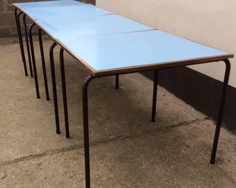 Industrial Vintage School Table