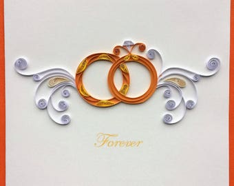 Engagement Rings Card, Love Card