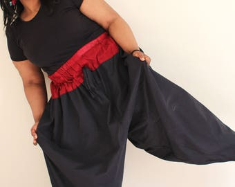 balloonpants, full-flared bottoms, Turkish comfort, fluid style, harem trousers