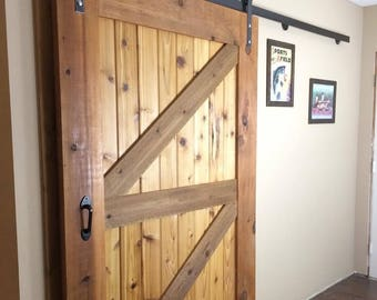 Made to order Cedar barn door